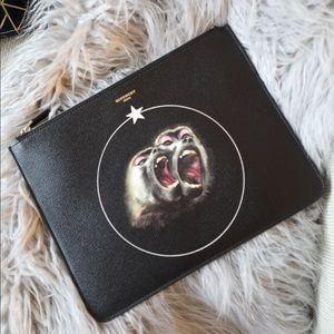 Givenchy Bags - Givenchy Monkey Brothers Pouch
